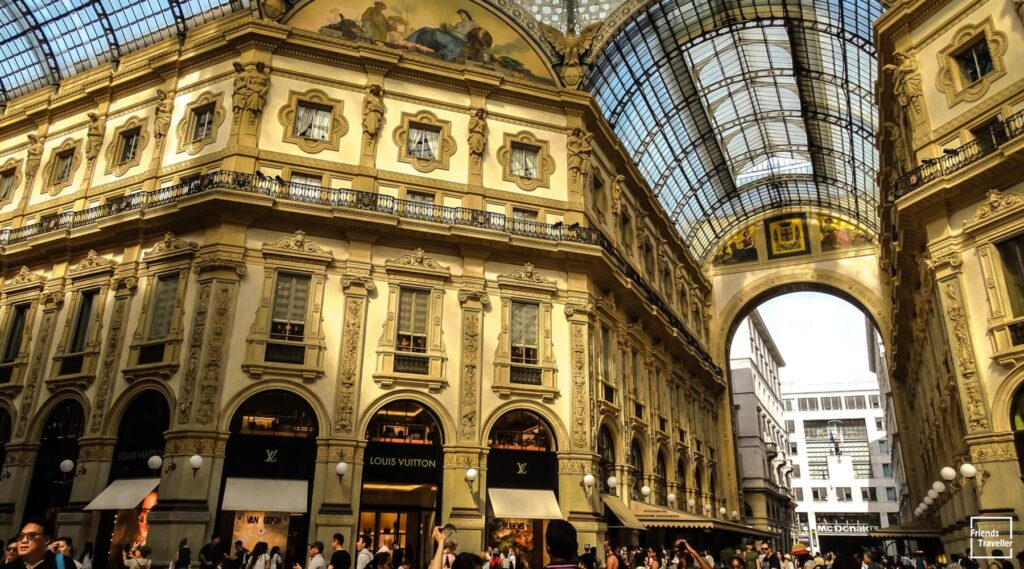 Galleria Vittorio Emanuele II - Friends Traveller